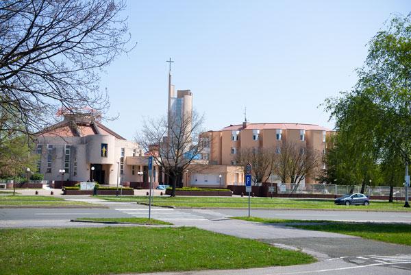 die Kirche der Unbefleckten Empfängnis der Heiligen Jungfrau Maria